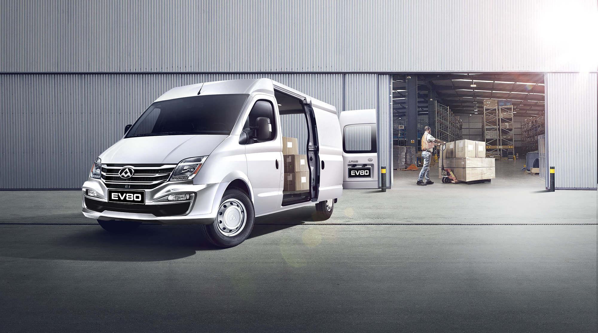 Transportbilen på 100% eldrift kan du köpa på Aros Auto i Västerås och Enköping